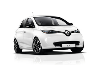 RENAULT Zoe Iconic charge rapide Q90 MY19