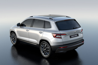 fiche technique skoda karoq 2 0 tdi 150ch scr ambition 4x4 dsg l 39. Black Bedroom Furniture Sets. Home Design Ideas