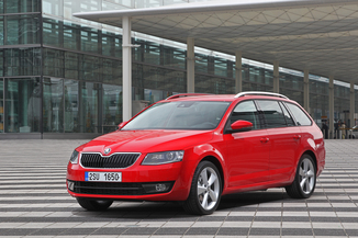SKODA Octavia Break Génération III Phase 1 2.0 TDI 184ch CR FAP RS