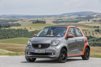 SMART Forfour Electrique 82ch perfect
