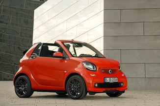 SMART Fortwo Cabriolet 71ch urbanshadow edition twinamic E6c