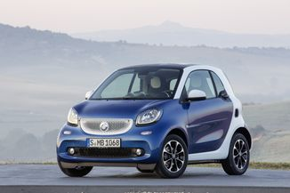 SMART Fortwo Coupe 102ch Turbo Brabus Softouch