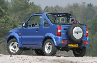 fiche technique suzuki jimny cabriolet i 1 3 standard 2003. Black Bedroom Furniture Sets. Home Design Ideas