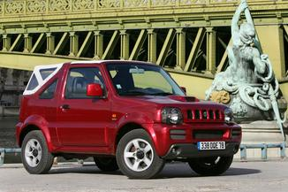 fiche technique suzuki jimny cabriolet 1 5 ddis croisiere blanche l 39. Black Bedroom Furniture Sets. Home Design Ideas