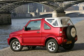 fiche technique suzuki jimny cabriolet 1 3 vvt jlx l 39. Black Bedroom Furniture Sets. Home Design Ideas