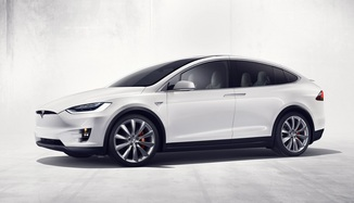 TESLA Model X P100DL Performance Ludicrous Dual Motor