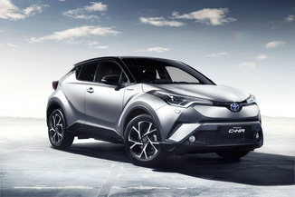 TOYOTA C-HR 1.2 Turbo 116ch Graphic AWD CVT