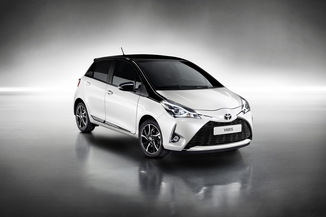 TOYOTA Yaris 100h Collection Jaune 5p