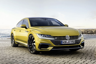 VOLKSWAGEN Arteon Génération I Phase 1 2.0 TDI 150ch BlueMotion Technology R-line