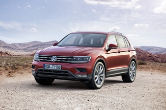 VOLKSWAGEN Tiguan 2.0 TDI 190ch BlueMotion Technology Carat Exclusive 4Motion DSG7