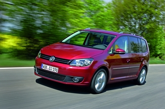 fiche technique volkswagen touran ii 1 6 tdi 105ch fap cup l 39. Black Bedroom Furniture Sets. Home Design Ideas