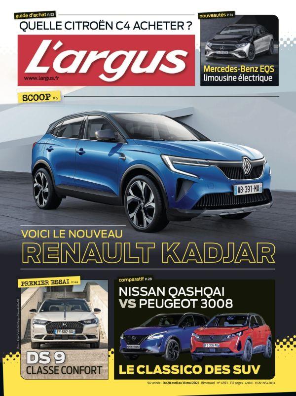 Journal bimensuel L'argus en kiosque - 4593 - 28 avril ...
