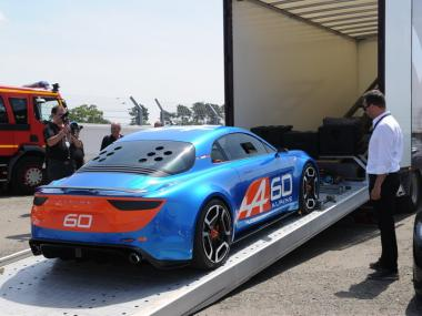 Alpine Celebration Concept sur camion