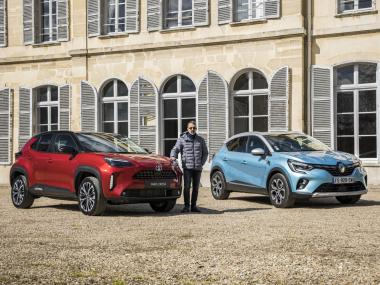 Toyota Yaris Cross 2021 match Renault Captur E-Tech Intens 160