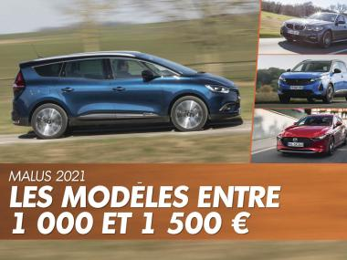 malus 2021 1 000 1 500 € renault scenic peugeot 3008 mazda 3 bmw serie 3
